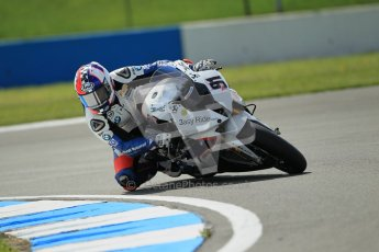 © Octane Photographic Ltd. 2012 World Superbike Championship – European GP – Donington Park. Friday 11th May 2012. WSBK Free Practice. Leon Haslam - BMW S1000RR. Digital Ref : 0328cb1d2243