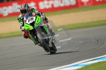 © Octane Photographic Ltd. 2012 World Superbike Championship – European GP – Donington Park. Friday 11th May 2012. WSBK Free Practice. Tom Sykes - Kawasaki ZX-10R. Digital Ref : 0328cb1d2444