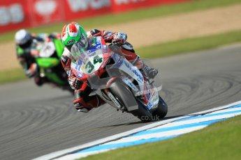 © Octane Photographic Ltd. 2012 World Superbike Championship – European GP – Donington Park. Friday 11th May 2012. WSBK Free Practice. Davide Giuliano - Ducati 1098R. Digital Ref : 0328cb1d2895