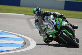 © Octane Photographic Ltd. 2012 World Superbike Championship – European GP – Donington Park. Friday 11th May 2012. WSBK Free Practice. Gary Mason - Kawasaki ZX-10R. Digital Ref : 0328lw7d3536
