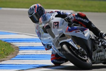 © Octane Photographic Ltd. 2012 World Superbike Championship – European GP – Donington Park. Friday 11th May 2012. WSBK Free Practice. Marco Melandri - BMW S1000RR. Digital Ref : 0328lw7d3697