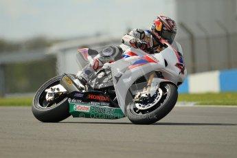 © Octane Photographic Ltd 2012. World Superbike Championship – European GP – Donington Park, Sunday 13th May 2012. Race 2. Hiroshi Aoyama. Digital Ref : 0337cb1d5519