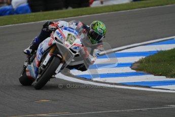 © Octane Photographic Ltd 2012. World Superbike Championship – European GP – Donington Park, Sunday 13th May 2012. Race 2. Chaz Davies. Digital Ref : 0337lw7d7916