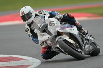 © Octane Photographic Ltd. World Superbike Championship – Silverstone, Race 2. Sunday 5th August 2012. Leon Haslam - BMW S1000RR - BMW Motorrad Motorsport. Digital Ref :