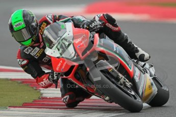 © Octane Photographic Ltd. World Superbike Championship – Silverstone, Race 2. Sunday 5th August 2012. Eugene Laverty - Aprillia RSV4 Factory - Aprillia Racing Team. Digital Ref :