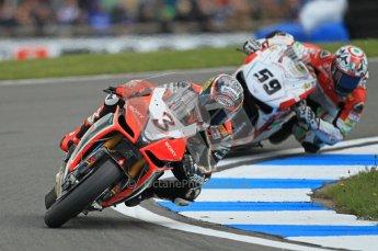 © Octane Photographic Ltd 2012. World Superbike Championship – European GP – Donington Park. Superpole session 1. Digital Ref : 0334cb1d4282