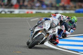 © Octane Photographic Ltd 2012. World Superbike Championship – European GP – Donington Park. Superpole session 1. 3rd Place - Marco Melandri - BMW S1000RR. Digital Ref :  0334cb1d4291