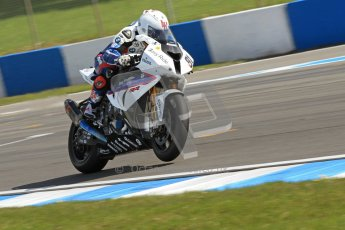 © Octane Photographic Ltd 2012. World Superbike Championship – European GP – Donington Park. Superpole session 1. 2nd Place - Leon Haslam - BMW S1000RR. Digital Ref :  0334cb7d2154