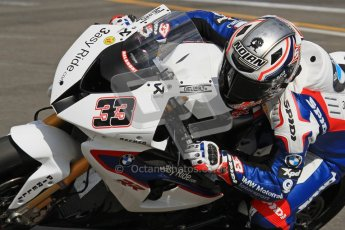 © Octane Photographic Ltd 2012. World Superbike Championship – European GP – Donington Park. Superpole session 3. 3rd Place - Marco Melandri - BMW S1000RR. Digital Ref :  0334lw7d6349a