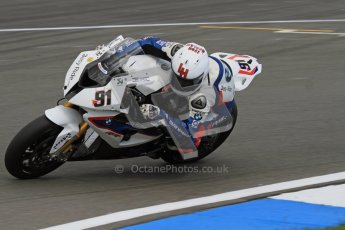 © Octane Photographic Ltd 2012. World Superbike Championship – European GP – Donington Park. Superpole session 3. 2nd Place - Leon Haslam - BMW S1000RR. Digital Ref :  0334lw7d6383