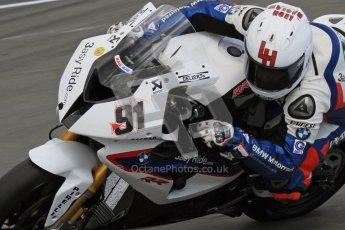 © Octane Photographic Ltd 2012. World Superbike Championship – European GP – Donington Park. Superpole session 3. 2nd Place - Leon Haslam - BMW S1000RR. Digital Ref : 0334lw7d6383a