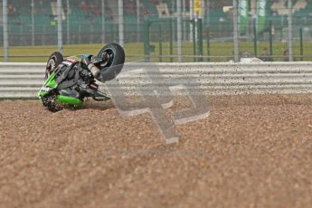 © Octane Photographic Ltd. World Superbike Championship – Silverstone, Superpole. Saturday 4th August 2012. Tom Sykes crashed out from the final superpole session relegating himself to 8th on the grid - Kawasaki ZX-10R - Kawasaki Racing Team. Digital Ref : 0447cb1d1749