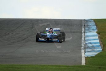 World © Octane Photographic Ltd./Carl Jones. Saturday August 31st 2013, AutoGP qualifying, Donington Park. Andrea Roda – Virtuosi UK. Digital Ref : 0803cj1d1075