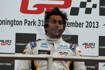 World © Octane Photographic Ltd./Carl Jones. Sunday September 1st 2013, AutoGP Race 2, Donington Park. Digital Ref : 0807cj1d1936