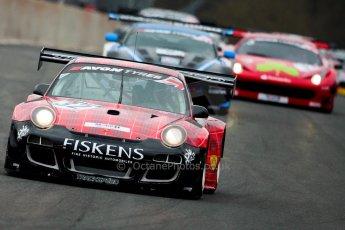 World © Octane Photographic Ltd. Avon Tyres British GT Championship. Monday 1st April 2013 Oulton Park – Race 1. Porsche 997 GT3-R – Trackspeed – Richard Westbrook, Gregor Fiskin. Digital Ref :