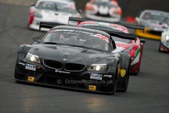 World © Octane Photographic Ltd. Avon Tyres British GT Championship. Monday 1st April 2013 Oulton Park – Race 1. BMW Z4 GT3 – 888Optimum – Joe Osborne, Lee Mowle. Digital Ref : 0623ce1d8693