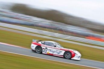 World © Octane Photographic Ltd. Avon Tyres British GT Championship. Monday 1st April 2013 Oulton Park – Race 2. Ginetta G50 – Century Motorsport – Declan Jones, Zoe Wenham. Digital Ref : 0625ce1d9807