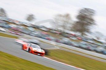 World © Octane Photographic Ltd. Avon Tyres British GT Championship. Monday 1st April 2013 Oulton Park – Race 2. Ferrari 458 Italia – MTEC – Matt Griffin, Duncan Cameron. Digital Ref : 0625ce1d9825