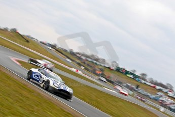 World © Octane Photographic Ltd. Avon Tyres British GT Championship. Monday 1st April 2013 Oulton Park – Race 2. Aston Martin V12 Vantage GT3 – Beechdean Motorsport – Jonathan Adams, Andrew Howard. Digital Ref : 0625ce1d9902
