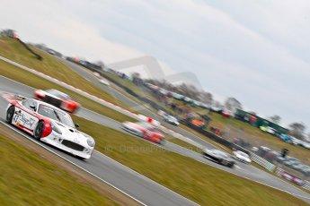 World © Octane Photographic Ltd. Avon Tyres British GT Championship. Monday 1st April 2013 Oulton Park – Race 2. Ginetta G50 – Century Motorsport – Declan Jones, Zoe Wenham. Digital Ref : 0625ce1d9906