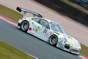World © Octane Photographic Ltd. Avon Tyres British GT Championship. Monday 1st April 2013 Oulton Park – Race 2. Porsche 997 GT3-R – Trackspeed - Nick Tandy, David Ashburn. Digital Ref : 0625ce1d9939