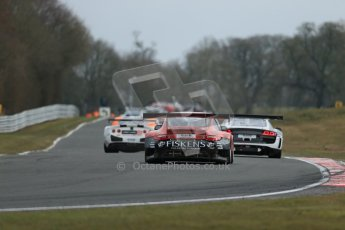 World © Octane Photographic Ltd. Avon Tyres British GT Championship. Monday 1st April 2013 Oulton Park – Race 2. Porsche 997 GT3-R – Trackspeed – Richard Westbrook, Gregor Fiskin. Digital Ref : 0625lw1d0031
