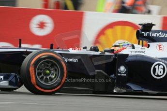 World © Octane Photographic Ltd. F1 Belgian GP - Spa-Francorchamps, Saturday 24th August 2013 - Practice 3. Williams FW35 - Pastor Maldonado. Digital Ref : 0792lw1d8906