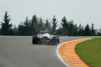 World © Octane Photographic Ltd. F1 Belgian GP - Spa-Francorchamps, Saturday 24th August 2013 - Qualifying. Williams FW35 - Valtteri Bottas. Digital Ref : 0793lw1d9405