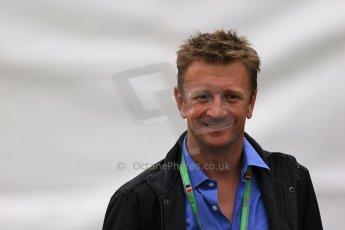 World © Octane Photographic Ltd. F1 Belgian GP - Spa-Francorchamps, Saturday 24th August 2013 - Paddock. Alan McNish. Digital Ref : 0791lw1d8346