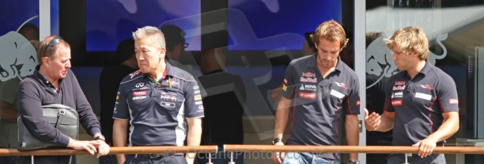 World © Octane Photographic Ltd. F1 Paddock, Belgian GP, Spa Francorchamps, Thursday 22nd August 2013. Digital Ref :