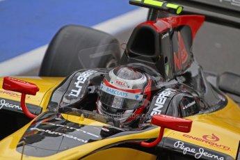 World © Octane Photographic Ltd. GP2 Belgian GP, Spa Francorchamps, Friday 23rd August 2013. Practice. Stephan Richelmi - DAMS. Digital Ref : 0785cb7d2079