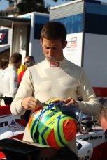 World © Octane Photographic Ltd. GP3 Belgian GP - Practice, Spa Francorchamps, Friday 23rd August 2013. Dallara GP3/13. Carlin – Alexander Sims. Digital ref : 0786cb7d2356