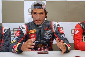 World © Octane Photographic Ltd. GP3 Belgian GP - Qualifying, Spa Francorchamps, Saturday 24th August 2013. Dallara GP3/13. MW Arden – Carlos Sainz Jnr. Digital ref : 0790cb7d2616