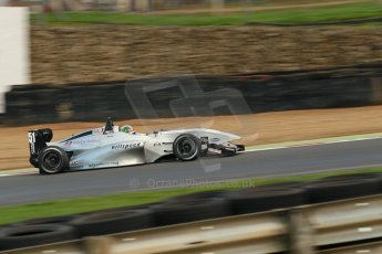 World © Octane Photographic Ltd. Brands Hatch, Race 2, Saturday 23rd November 2013. BRDC Formula 4 Winter Series, MSV F4-13, – Kieran Vernon - Hillspeed. Digital Ref : 0865lw1d6892