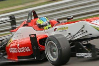 World © Octane Photographic Ltd. British Formula 3 – Brands Hatch. Saturday 10th August 2013 – Qualifying. Felipe Lopes Guimaraes – Fortec Motorsport – Dallara F312 HWA Mercedes. Digital Ref : 0776cb1d3515