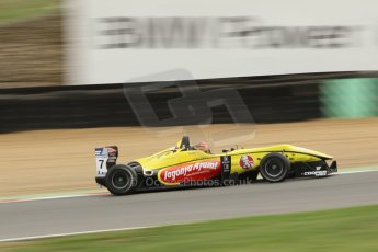 World © Octane Photographic Ltd. British Formula 3 – Brands Hatch. Saturday 10th August 2013 – Qualifying. Sean Gelael – Double R – Dallara F312 HWA Mercedes. Digital Ref : 0776cb1d3609