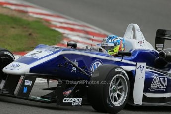 World © Octane Photographic Ltd. British Formula 3 – Brands Hatch. Saturday 10th August 2013 – Qualifying. Jordan King – Carlin – Dallara F312 Volkswagen. Digital Ref : 0776lw1d6153