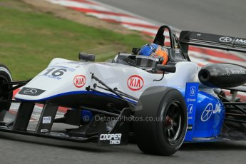 World © Octane Photographic Ltd. British Formula 3 – Brands Hatch. Saturday 10th August 2013 – Qualifying. Tatiana Calderon – Double R – Dallara F312 HWA Mercedes. Digital Ref : 0776lw1d6169