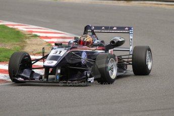 World © Octane Photographic Ltd. British Formula 3 – Brands Hatch. Saturday 10th August 2013 – Race 1. Zhi Cong Li – Carlin – Dallara F312 Volkswagen. Digital Ref : 0777cb7d3907