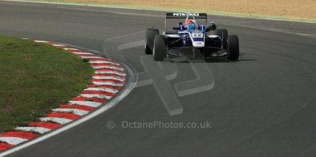 World © Octane Photographic Ltd. British Formula 3 – Brands Hatch. Saturday 10th August 2013 – Race 1. Jazeman Jaafar – Carlin – Dallara F312 Volkswagen. Digital Ref : 0777lw1d6368