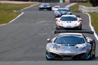 World © Octane Photographic Ltd./Chris Enion. Avon Tyres British GT Championship - Saturday 30th March 2013 Oulton Park – Practice 2. McLaren MP4-12C GT3 – Preci-Spark Engineering – David Jones, Godfrey Jones. Digital Ref :