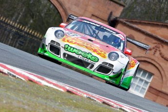 World © Octane Photographic Ltd./Chris Enion. Avon Tyres British GT Championship - Saturday 30th March 2013 Oulton Park – Practice 2. Porsche 997 GT3-R – Trackspeed – Phil Keen, Jon Minshaw. Digital Ref : 0605ce1d5448