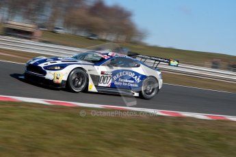 World © Octane Photographic Ltd./Chris Enion. Avon Tyres British GT Championship - Saturday 30th March 2013 Oulton Park – Practice 1. Aston Martin V12 Vantage GT3 – Beechdean Motorsport – Jonathan Adams, Andrew Howard. Digital Ref : 0604ce1d4298