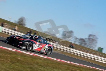 World © Octane Photographic Ltd./Chris Enion. Avon Tyres British GT Championship - Saturday 30th March 2013 Oulton Park – Practice 1. Nissan GTR – JRM Racing – Steve Tandy, Dan Brown. Digital Ref : 0604ce1d4365