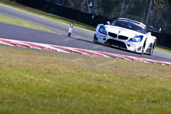 World © Octane Photographic Ltd./Chris Enion. Avon Tyres British GT Championship - Saturday 30th March 2013 Oulton Park – Practice 1. BMW Z4 GT3 – Ecuri Ecosse – Oliver Bryant, Marco Attard. Digital Ref : 0604ce1d4738