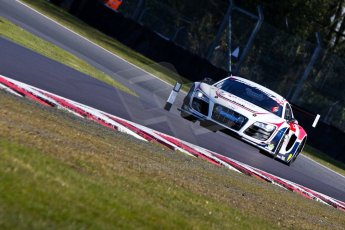 World © Octane Photographic Ltd./Chris Enion. Avon Tyres British GT Championship - Saturday 30th March 2013 Oulton Park – Practice 1. Audi R8 LMS Ultra – United Autosports – Zak Brown, Matt Bell, Mark Patterson. Digtal Ref :