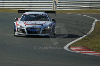 World © Octane Photographic Ltd. Avon Tyres British GT Championship	- Saturday 30th March 2013 Oulton Park – Practice 1. Audi R8 LMS Ultra – United Autosports – Zak Brown, Matt Bell, Mark Patterson. Digtal Ref : 0604lw1d8068