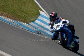World © Octane Photographic Ltd. MCE Insurance British Superbike Championship (BSB) Test day – Donington Park, 14th March 2013. Alex Lowes – Samsung Honda. Digital Ref : 0588ce1d3585