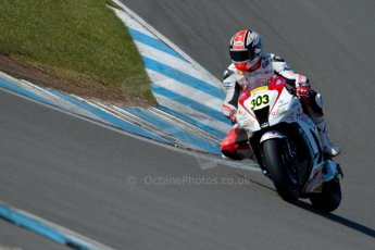 World © Octane Photographic Ltd. MCE Insurance British Superbike Championship (BSB) Test day – Donington Park, 14th March 2013. Rapid Solicitors Kawasaki. Digital Ref : 0588ce1d3622