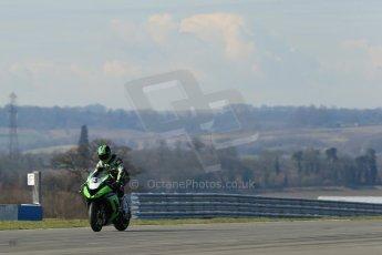 World © Octane Photographic Ltd. MCE Insurance British Superbike Championship (BSB) Test day – Donington Park, 14th March 2013. Digital Ref : 0588lw1d4455